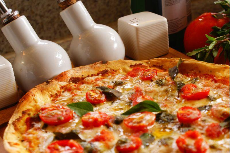 Créditos: Thiago Lucas/Divulgação. Pizza de margheritta da Pinoli.