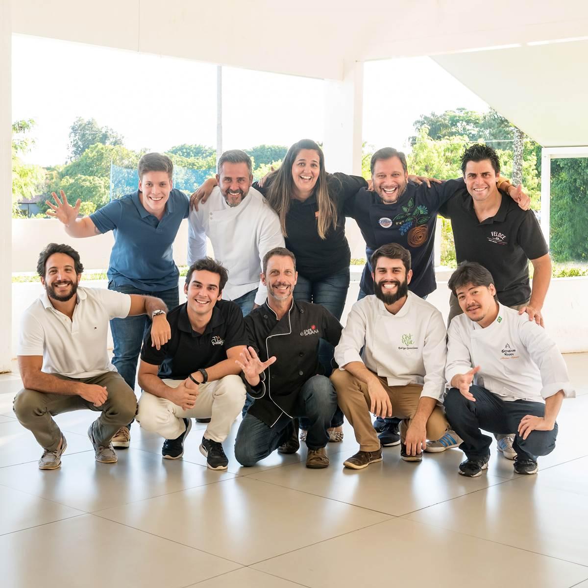 Créditos: Telmo Ximenes/Divulgação. Chefs do Panelas da Casa