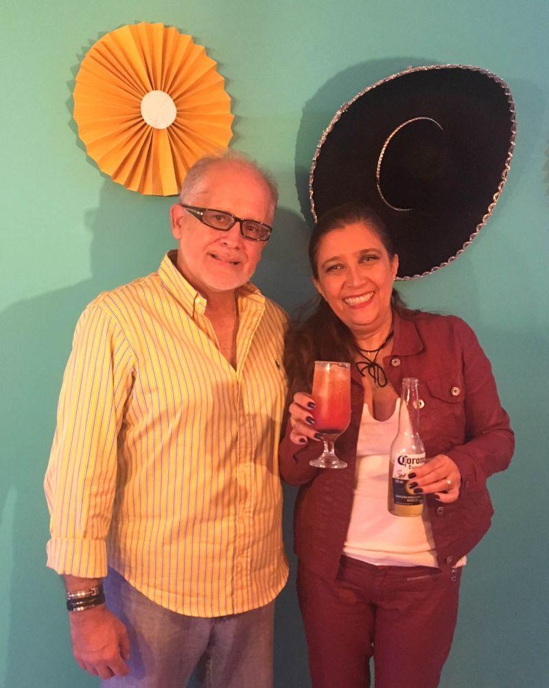 08/04/2018. Credito: Liana Sabo/CB/D.A. Press. Brasil. Brasilia - DF. Favas Contadas. Olavo Medeiros Muller e Adrana Pimentel, donos do Cozumel