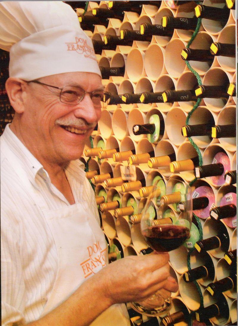 Créditos: Martin Garcia/Divulgação. Chef Francisco Ansiliero, do Dom Francisco.