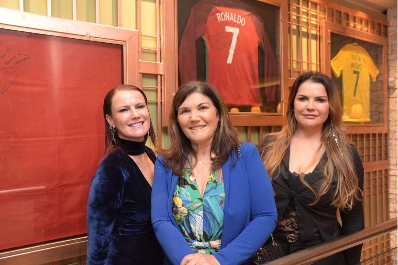 Créditos: Rafael Cavalli/Divulgação. Elma, Dolores e Kátia Aveiro, donas do restaurante Casa Aveiro by Dolores, em Gramado.