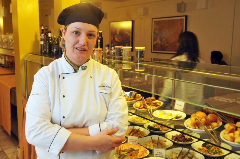 13/08/2014. Crédito: Minervino Junior/CB/D.A Press. Brasil. Brasília - DF. A chef Ticiana Werner