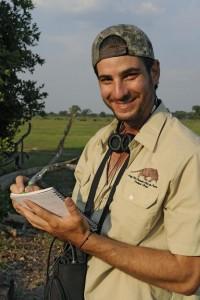 Gabriel Massocato um dos vencedores do prêmio Wildlife Warriors (Guerreiros da Vida Selvagem), promovido pelo Jardim Zoológico de Houston – Foto: Divulgação