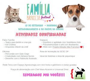 cartaz do evento Família Brasília Festival - Pet