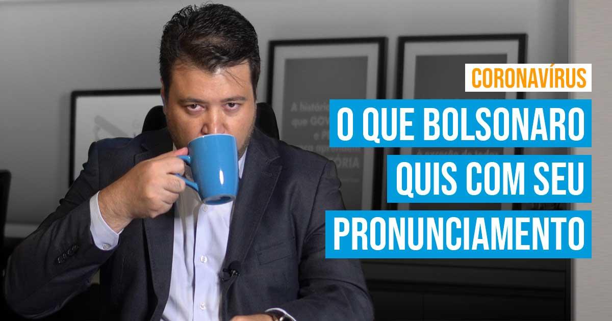 blog marcelo vitorino correio braziliense bolsonaro coronavirus pronunciamento