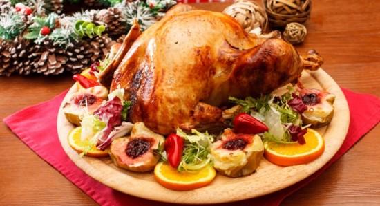 O peru é umas receitas típicas do fim de ano