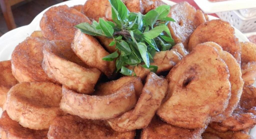 2015. Crédito: Belini Pães &Gastronomia/Divulgação. Rabanada representa essa época do ano