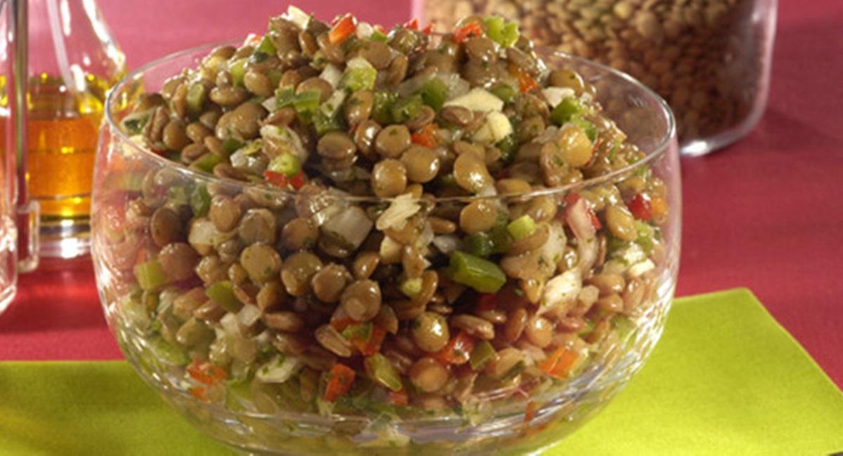 A lentilhas abrem o caminho para a ceia