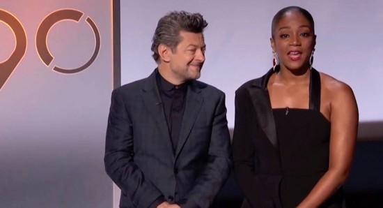 Dupla de apresentadores estava perdida no anúncio dos indicados ao Oscar