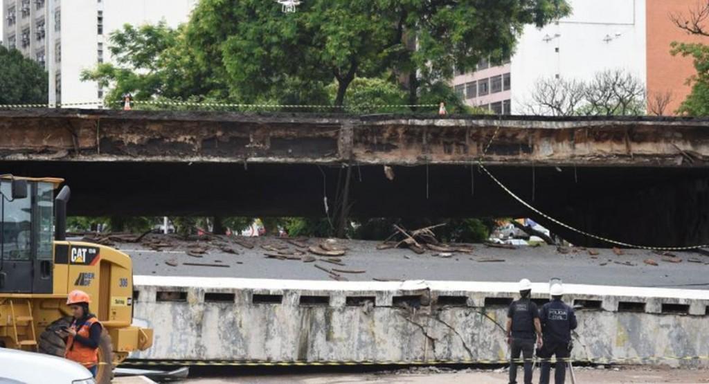 Os desabamentos deixaram o brasiliense estarrecido