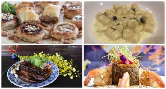 A gastronomia de vários países encontra um cantinho em Brasília