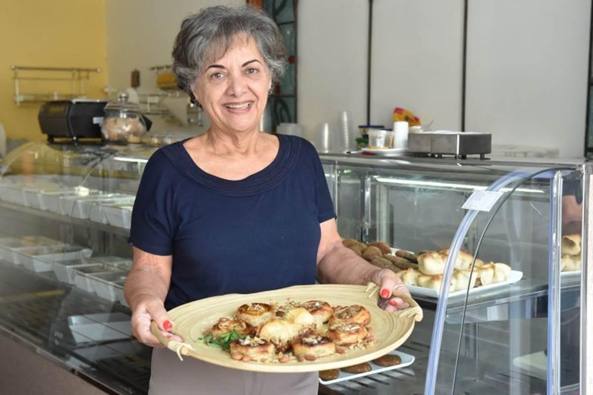 Fatima Hamu encanta com as delícias árabes do Lagash