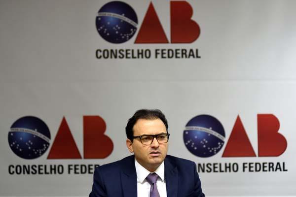 Foto: Ed Alves/CB/D.A.Press. Marcus Vinicius Furtado, presidente da Ordem dos Advogados do Brasil - OAB