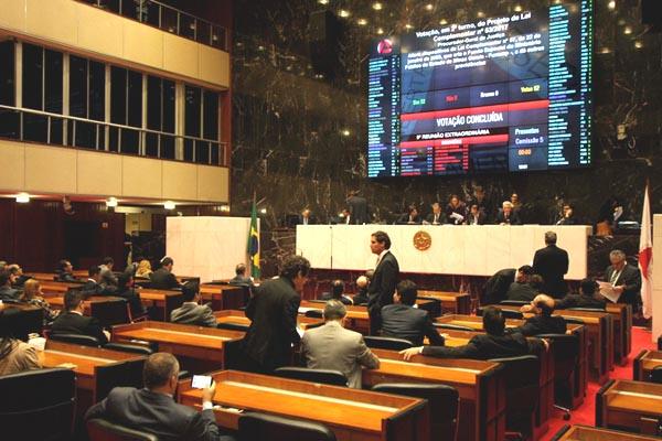 Proposta da Procuradoria-Geral de Justiça foi aprovada em primeiro turno por 50 deputados na última quarta-feira e vai a nova votação (Foto: Edésio Ferreira EM DA Press)