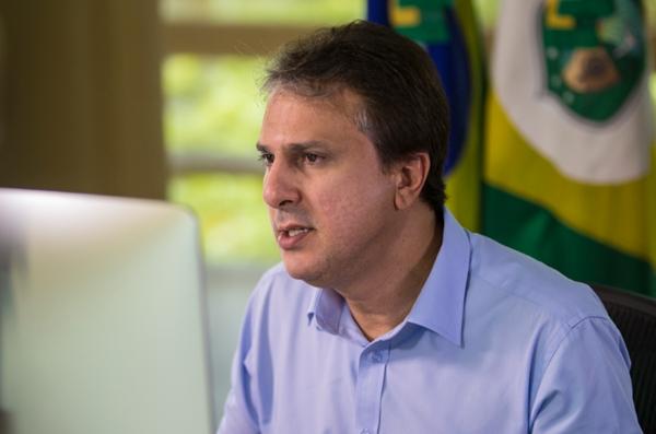 Camilo Santana afirmou ainda que os concursos da Funceme, Secult e Ematerce terão os editais lançados em breve. Crédito: Governo do Ceará/Divulgação