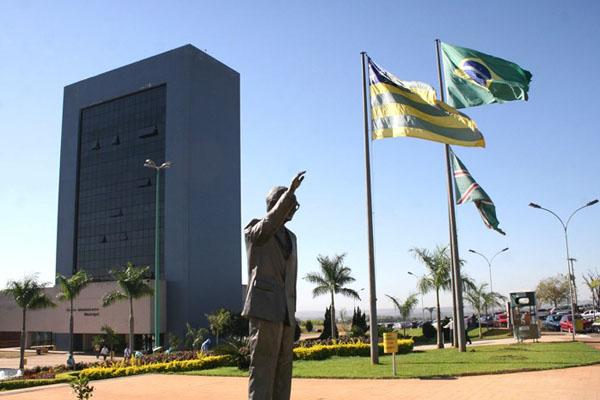 Centro administrativo municipal de Goiânia (Foto: Rafael Delfino/Secom Prefeitura de Goiás)