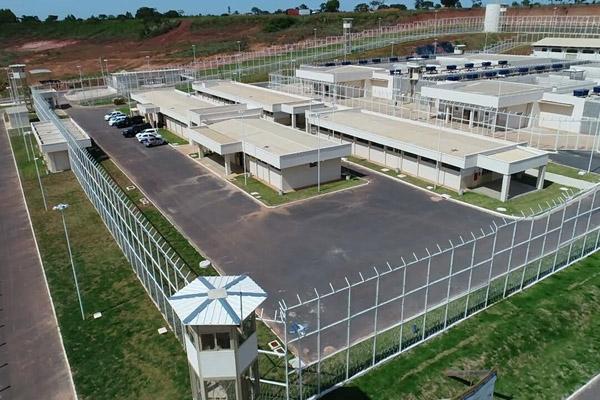 Presídio Estadual de Formosa/GO (Foto: Divulgação/Governo de Goiás)