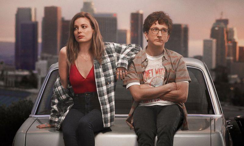 Credito: Netflix/Divulgacao. Cena da série Love, da Netflix, com Gilian Jacobs e Paul Rust.