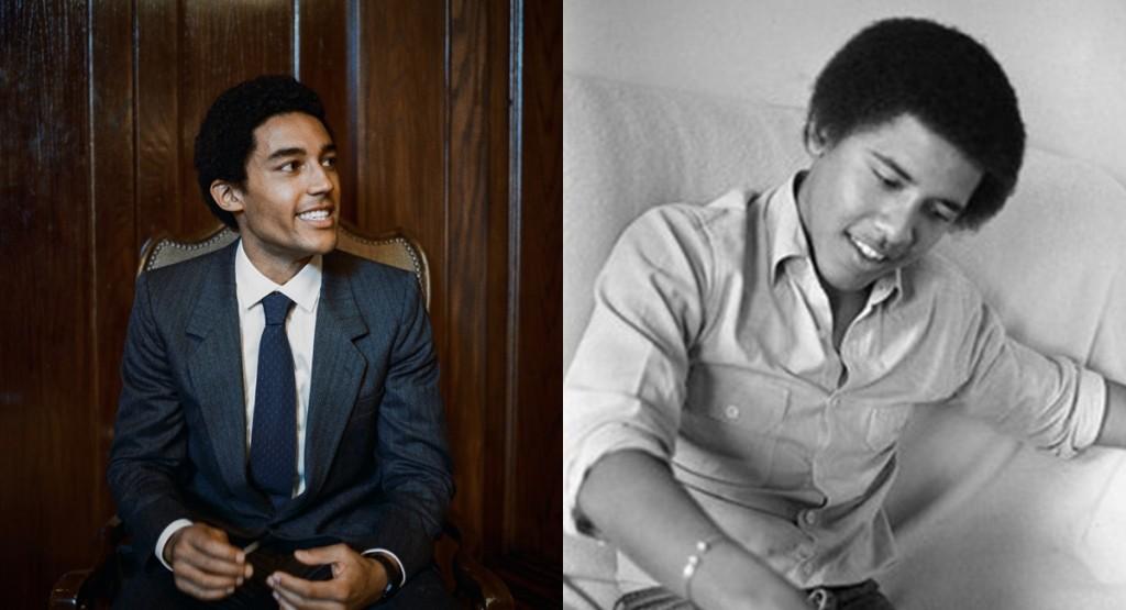 Ator Devon Terrel e ex-presidente Barack Obama