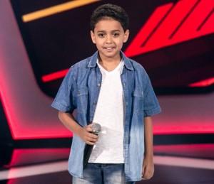 Participante do The voice kids Igor Silveira