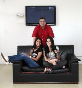 12/01/2017. Crédito: Ana Rayssa/Esp. CB/D.A. Press. Brasil. Brasília - DF. Jornalistas Adriana Izel, Luiza Ikemoto e Vinicius Nader, do Blog Próximo Capítulo.