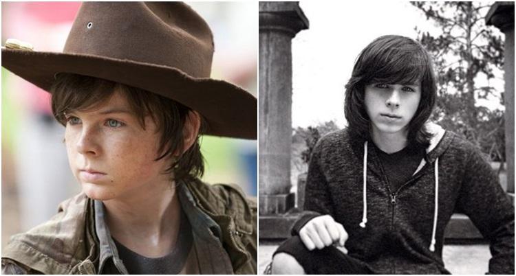 Ator que interpreta Carl em The Walking Dead