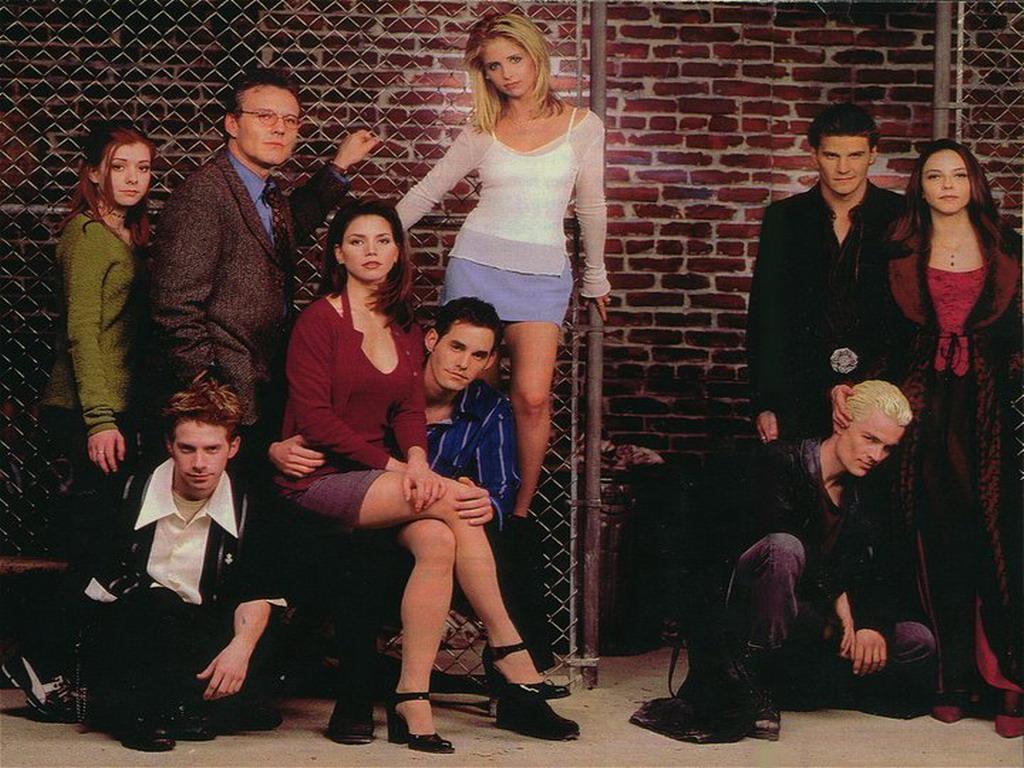 Cena da série Buffy, a caça-vampiros