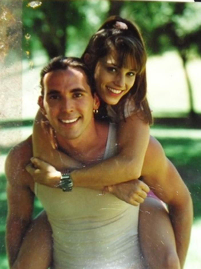 Amy Jo Johnson e Jason David Frank