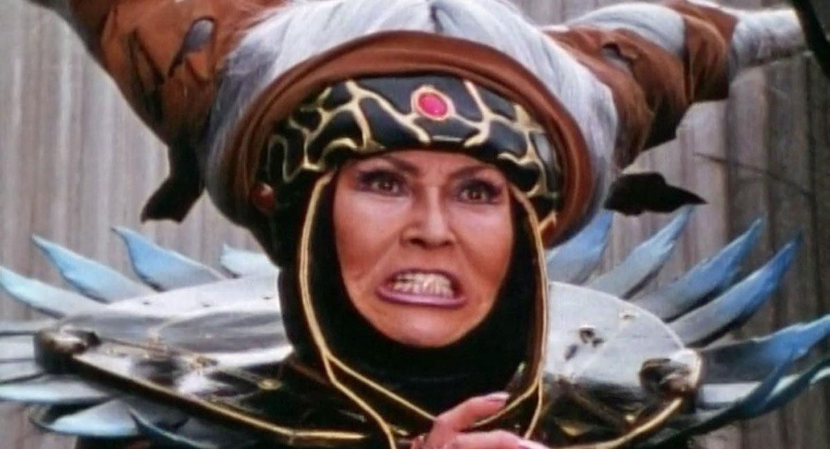 A Rita Repulsa original em Power Rangers