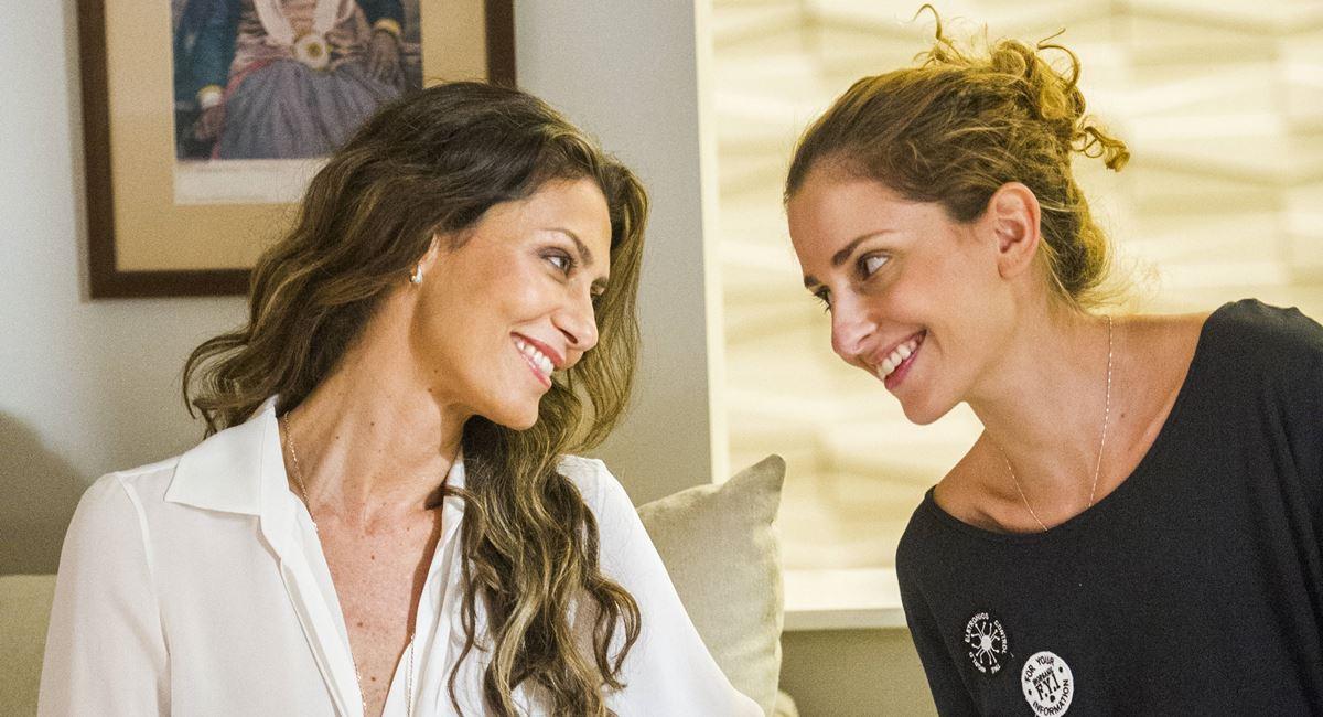 Carol Duarte  e Maria Fernanda Cândido serão mãe em filha em A força do querer