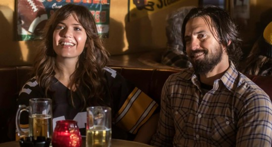This is us: Rebeca (Mandy Moore) e Jack (Milo Ventimiglia)