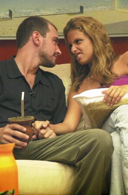Thyrso e Manuela no BBB 2