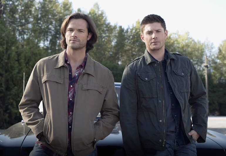 Sam e Dean Winchester em Supernatural