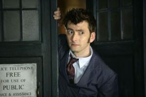 Doctor Who. David Tennant como o 10º Doutor.