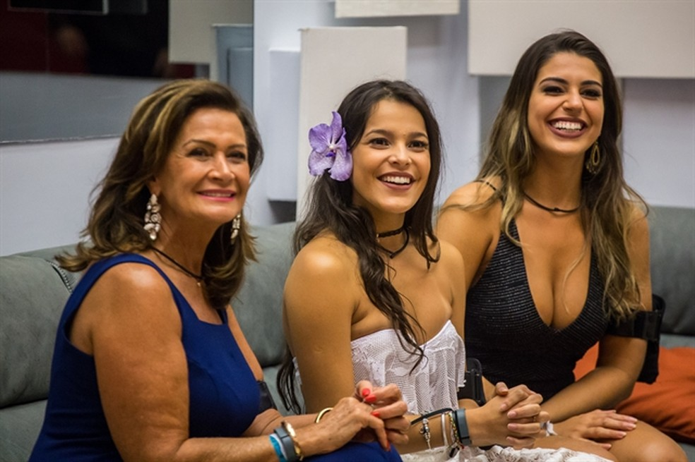 Ieda, Emilly e Vivian disputam o título de vencedora do BBB 17