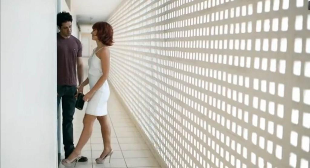 Cena da minissérie Felizes pra sempre, filmada em Brasília.