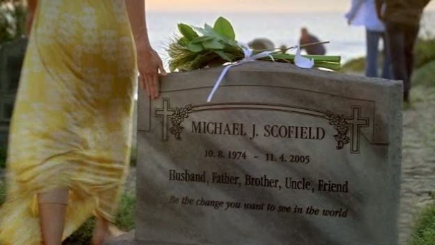 Túmulo de Michael Scofield em Prison break
