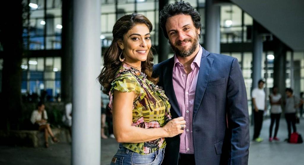 Juliana Paes e Rodrigo Lombardi têm química