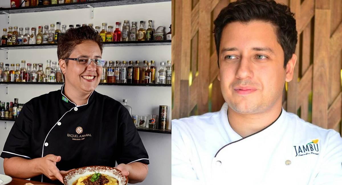 Rachel e Leandro representam Brasília no The taste