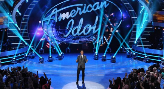 Imagem do reality show American idol