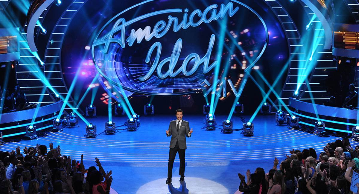 Imagem do reality show American idol