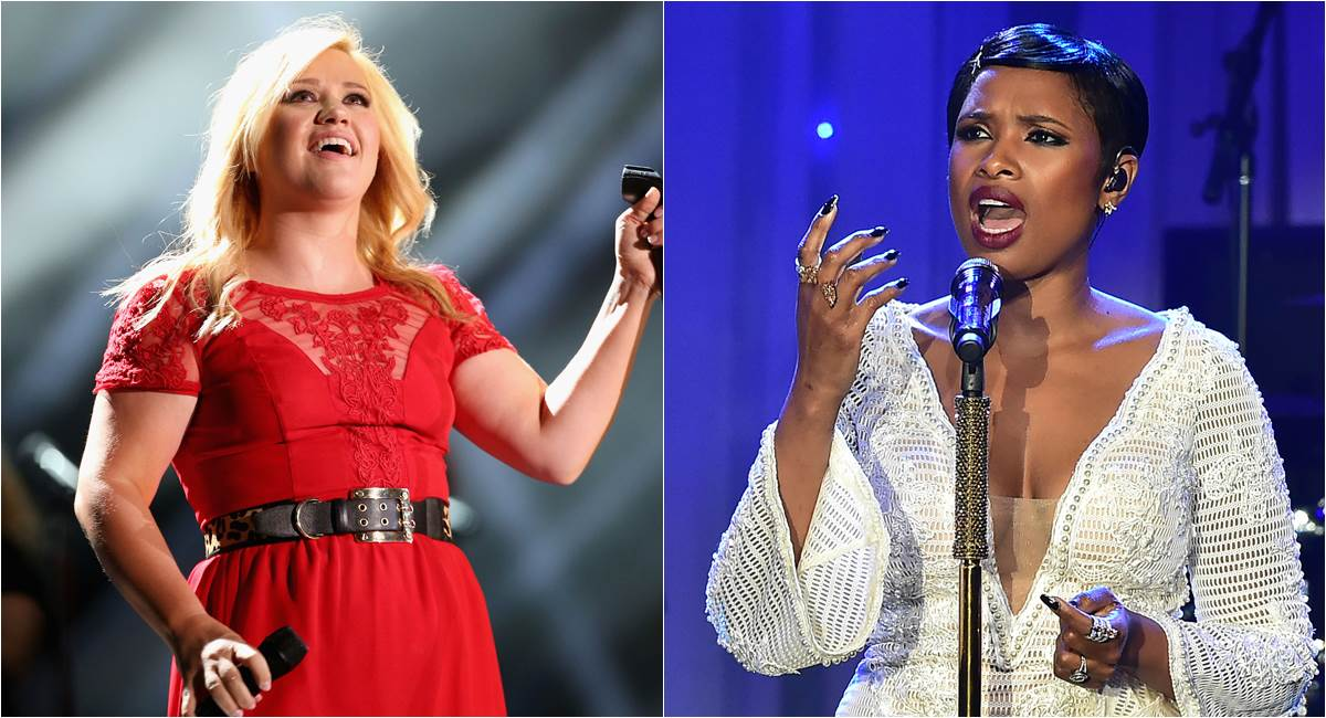 Kelly Clarkson e Jennifer Hudson, novas técnicas do The voice US