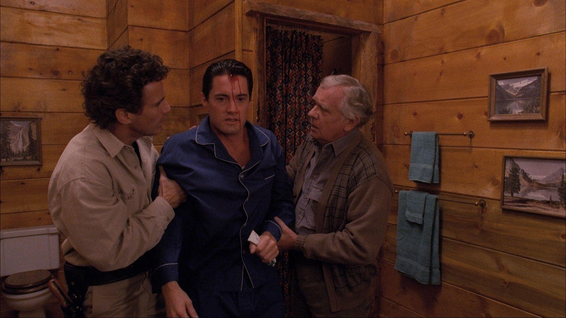 Cenas de Twin Peaks são repletas de violência