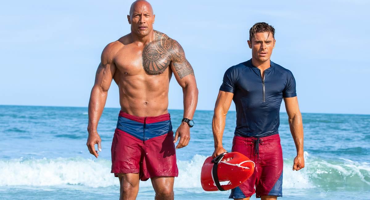 Corpos sarados continuam em evidência no filme Baywatch