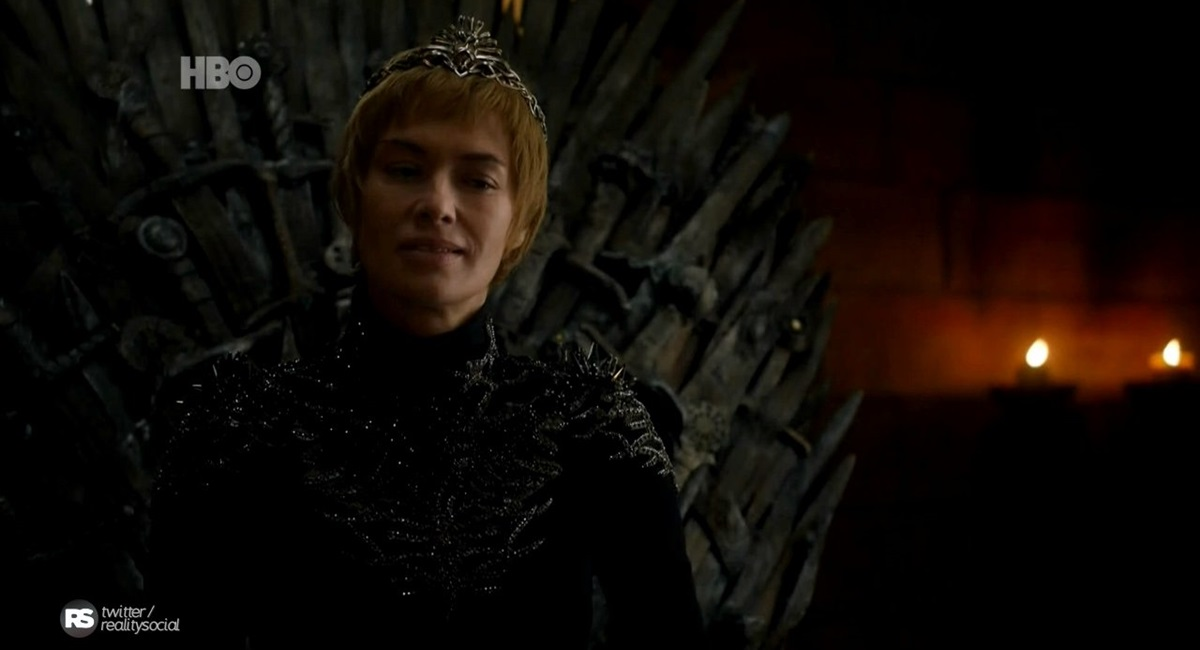 Cersei em cena do episódio The queen's justice