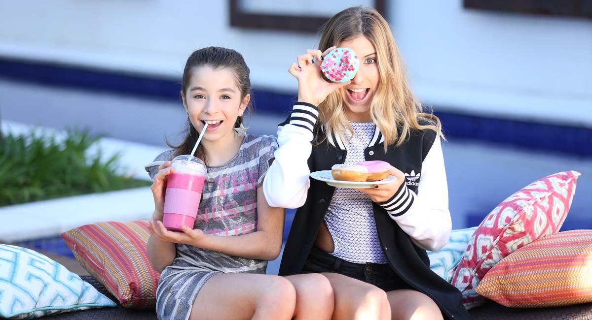 Ivana e Sofia do canal Cenoritas