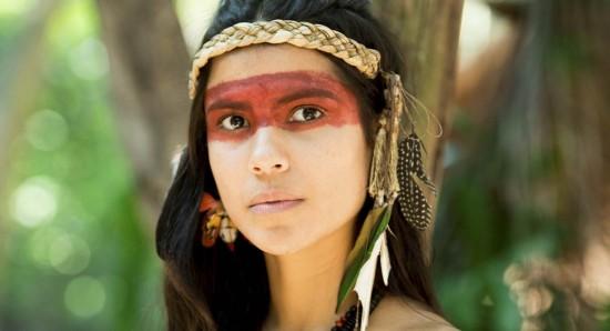 Jurema Reis passou um tempo com índios do Pará como laboratório de Novo mundo