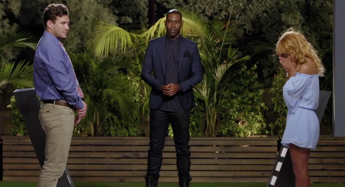 Devin e Rashid durante A Escolha, na final de Are you the one: Second chances