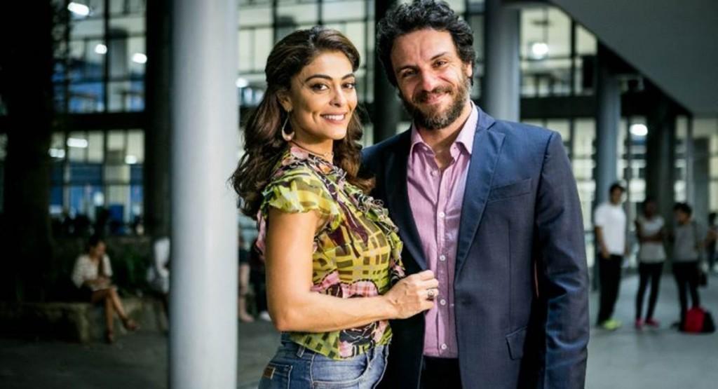 Química entre Juliana Paes e Rodrigo Lombardi poderia salvar A força do querer
