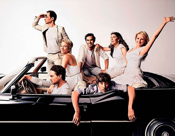 Imagem promocional de The Big Bang Theory